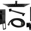 Wall mounted Shower system Rea Soho Black