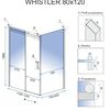 Shower enclosure Rea Whistler 80x120cm