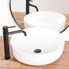 Bathroom faucet GUSTO ONE Black High
