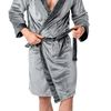 Bathrobe Comfort Grey