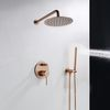 Shower system Rea Lungo Rose Gold + BOX