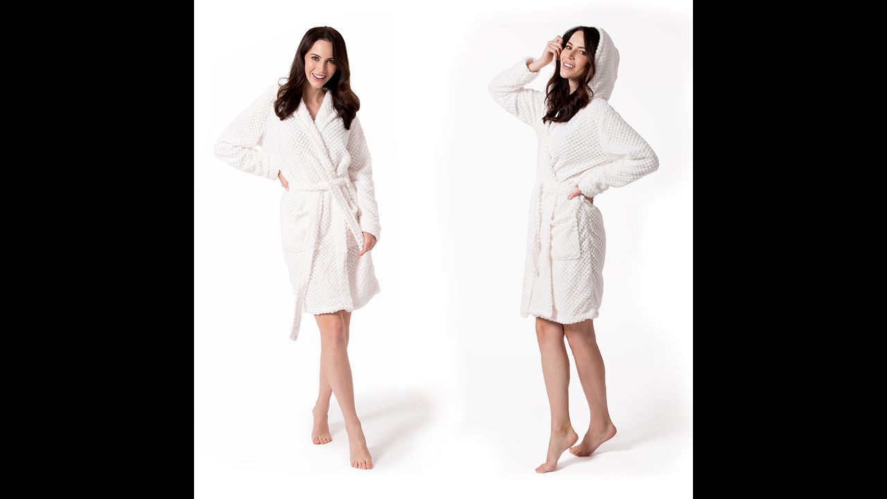 Bathrobe Dressing-gown DIAMOND Ecru