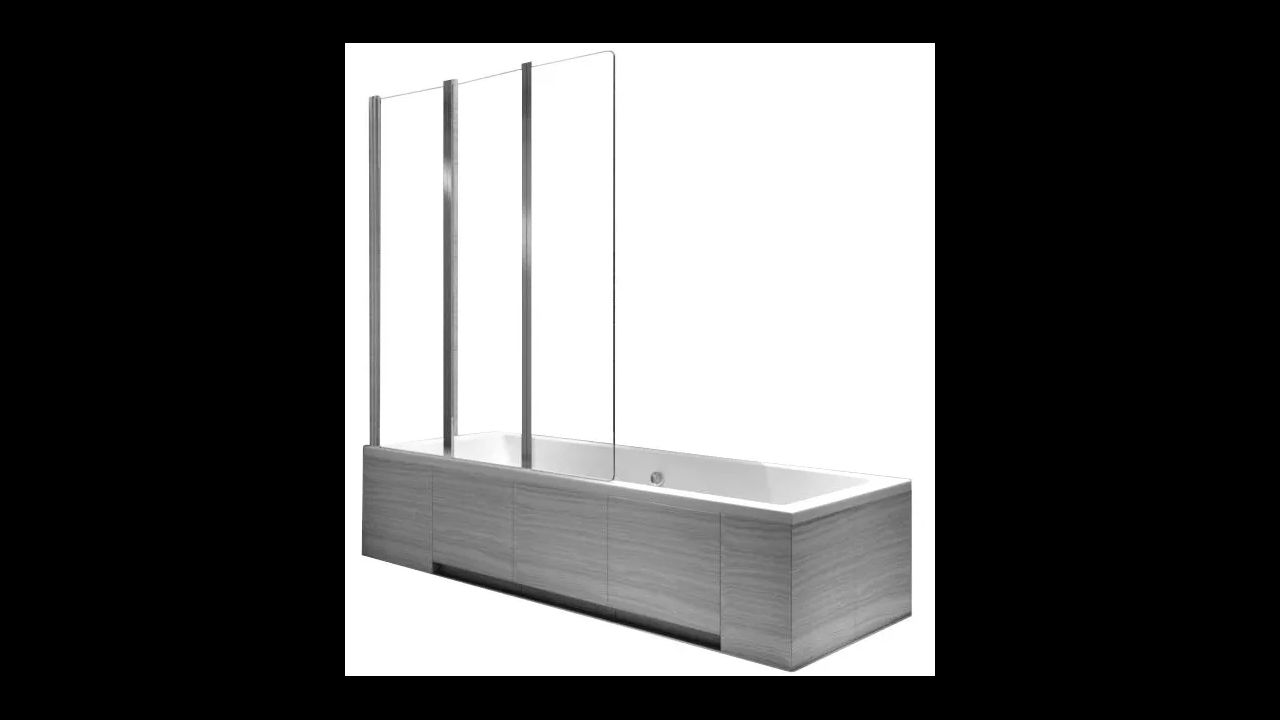 bathtub screen Rea Agat-3 120