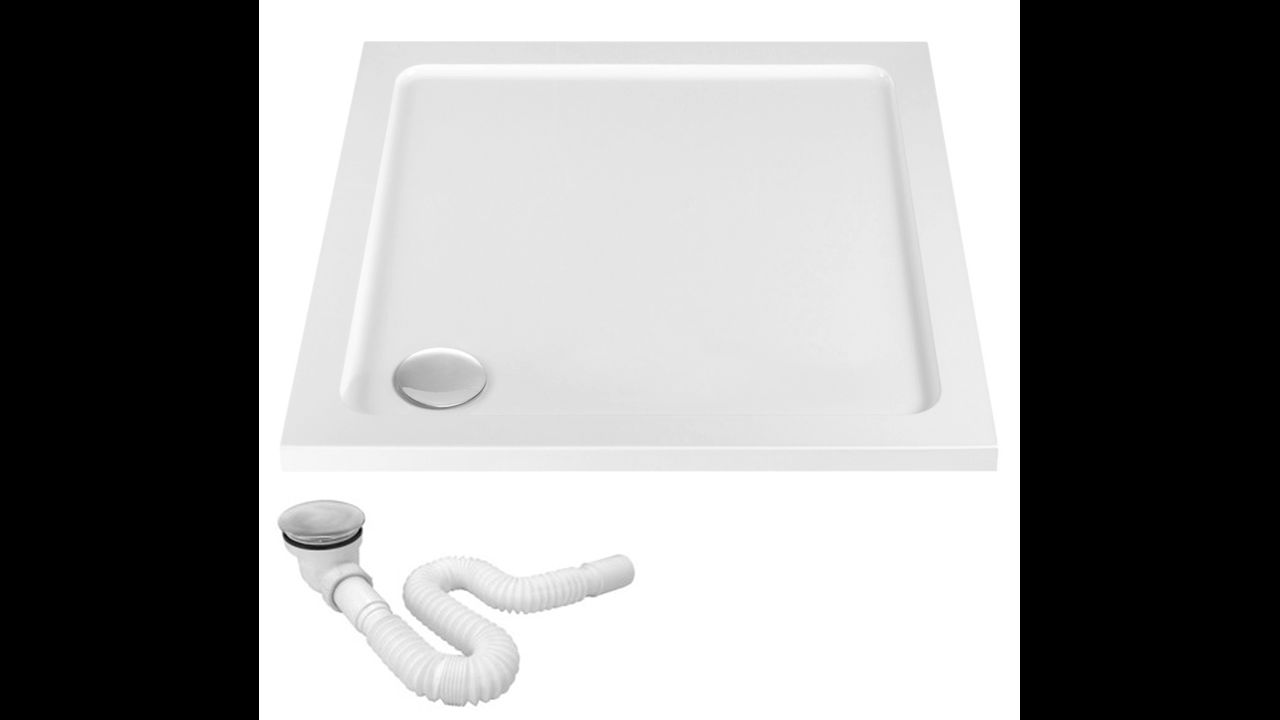 shower tray Rea Savoy White