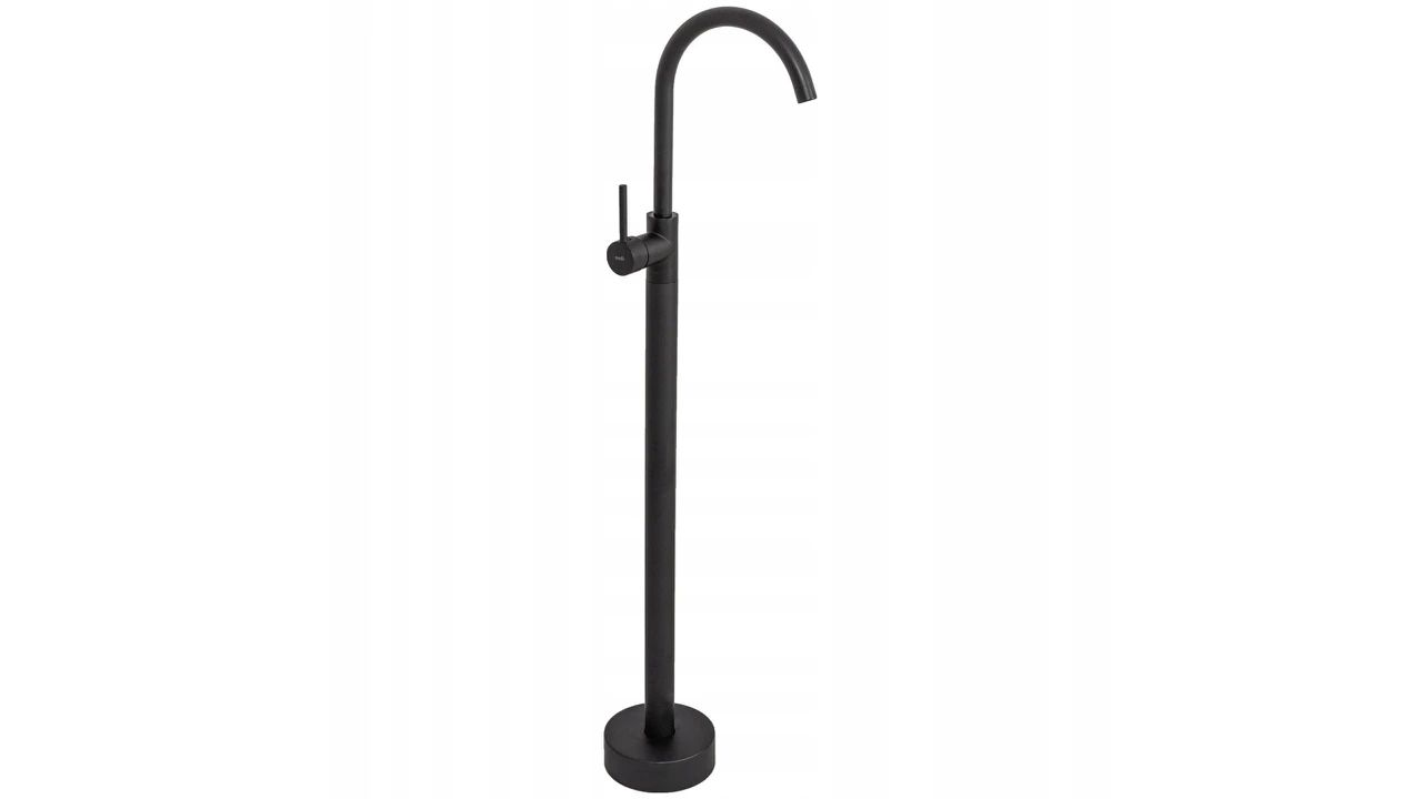 Free-standing faucet Rea Ortis Black