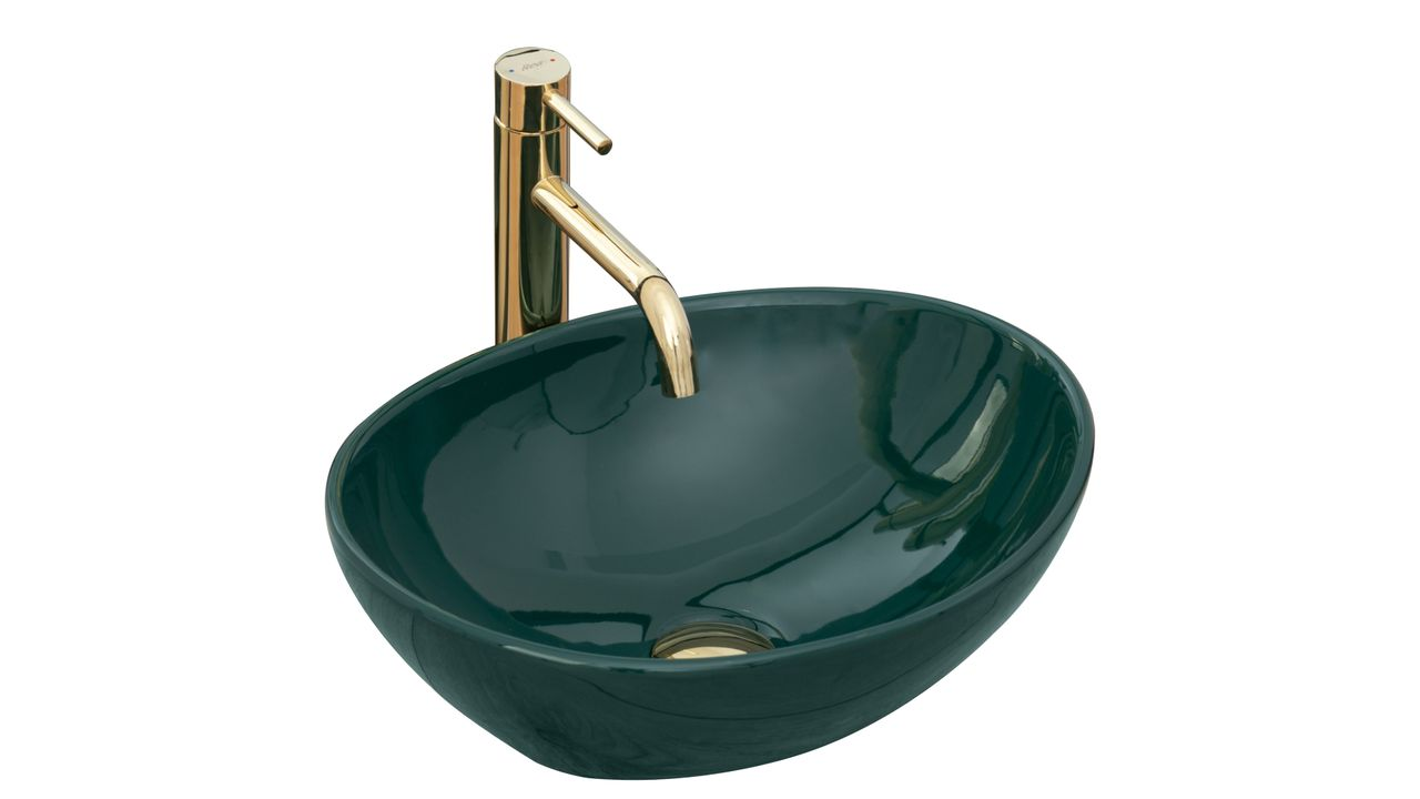 Countertop Basin Rea Sofia Green