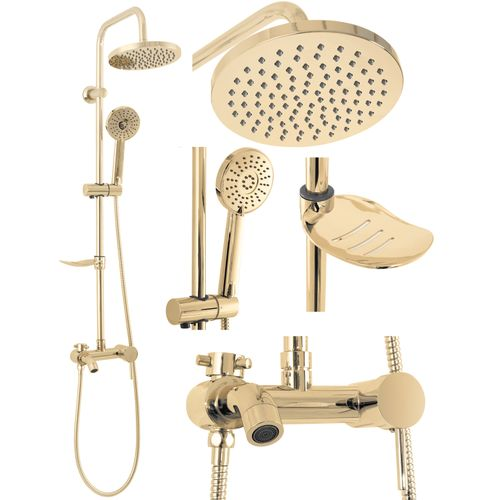 Shower set LUIS GOLD