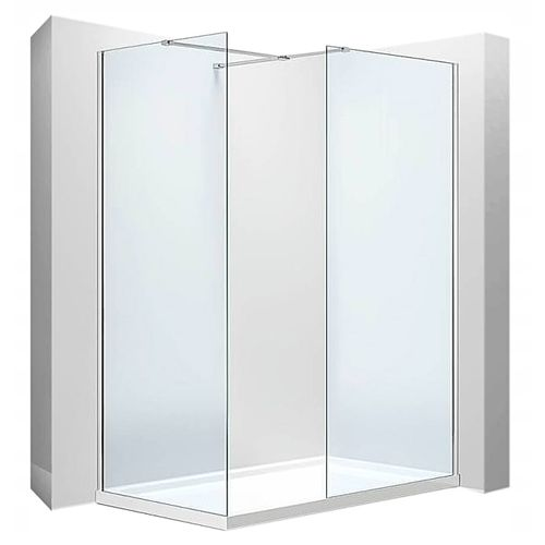 Shower enclosure Walk-In Aero N 80-120x80-120 Rea