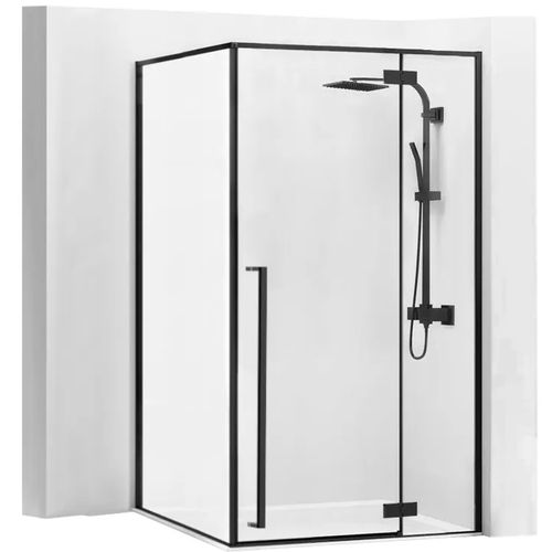 Shower enclosure Fargo 80x100 Black Mat