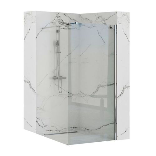 Showerwall Rea Aero N 80 Transparent