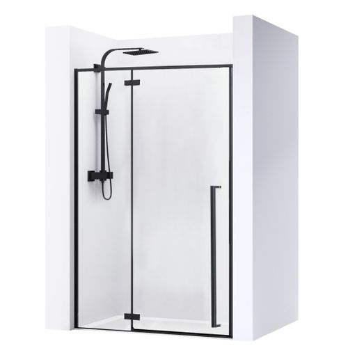Shower doors FARGO BLACK MAT 100
