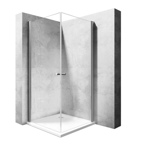 Shower enclosure Rea Easy Space N2 90x90