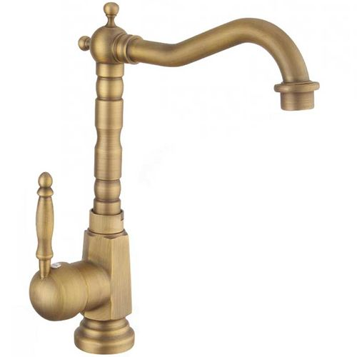 Basin mixer Bona Old Gold High