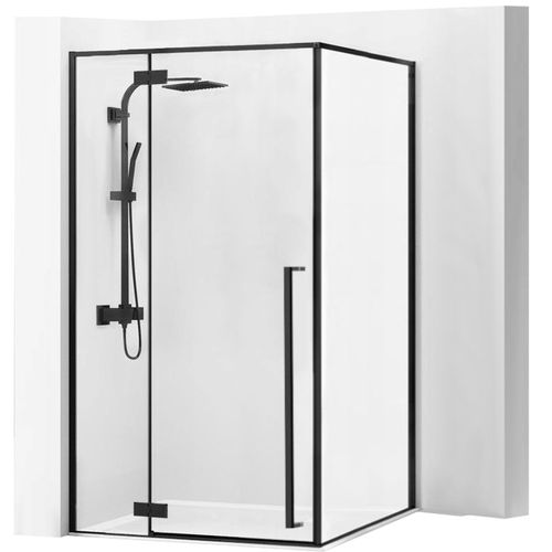 Shower enclosure Fargo 90x120 Black Mat