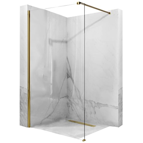 Showerwall Rea Aero Gold 90 Walk In