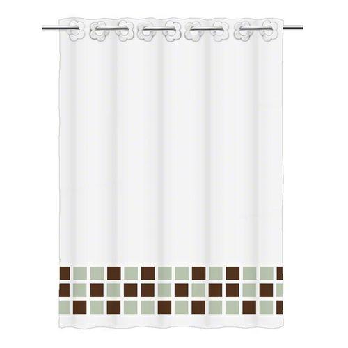 Textile shower curtain SC2864A