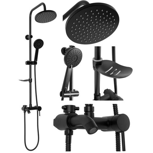 Shower set Czarny LUIS Black