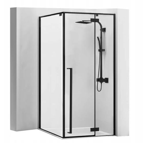 Shower enclosure Fargo 90x90 Black Mat