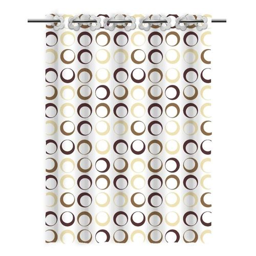 Textile shower curtain SC2789A