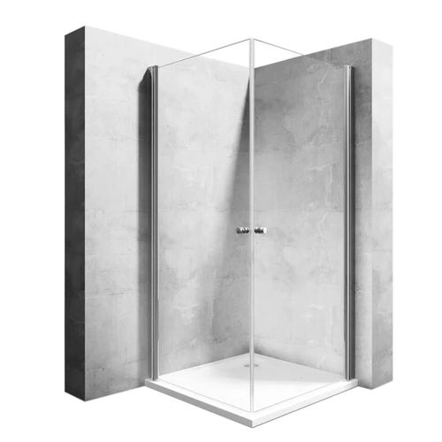 Shower enclosure Rea Easy Space N2 80x80