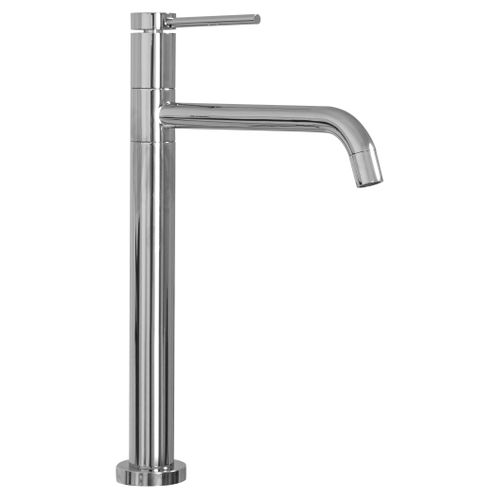 Basin mixer Lugano Slim Chrome High