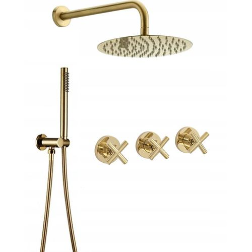 Shower system REA EXIT Gold