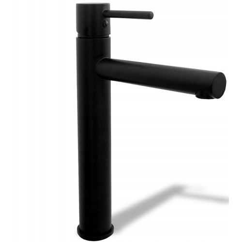 High Basin mixer Rea Tess Black