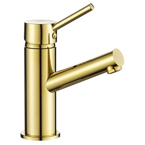 Basin mixer REA LUMI GOLD LOW