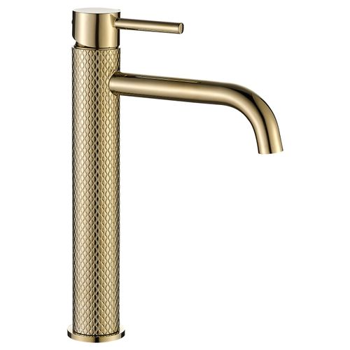 Basin mixer GUSTO TWO Light Gold High