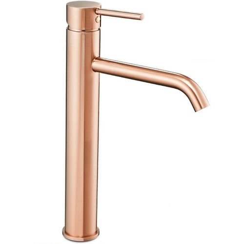 Basin mixer Rea Lungo Rose Gold High