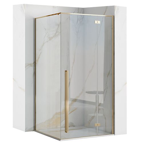 Shower enclosure Fargo 90x90 Gold