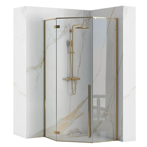 Shower enclosure DIAMOND GOLD 90x90